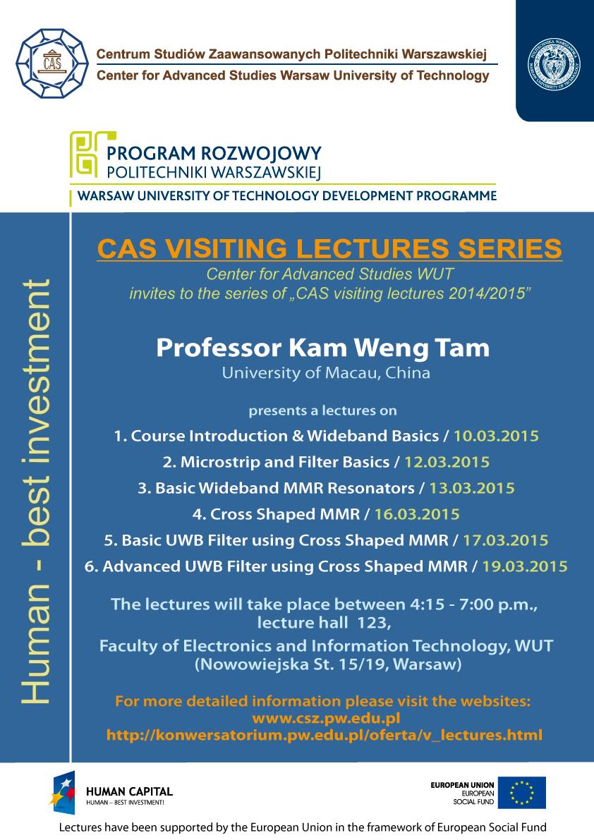 Visiting Professor - Kam Weng Tam, University of Macau, China / News ...